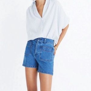 Madewell High Rise denim Jean Shorts